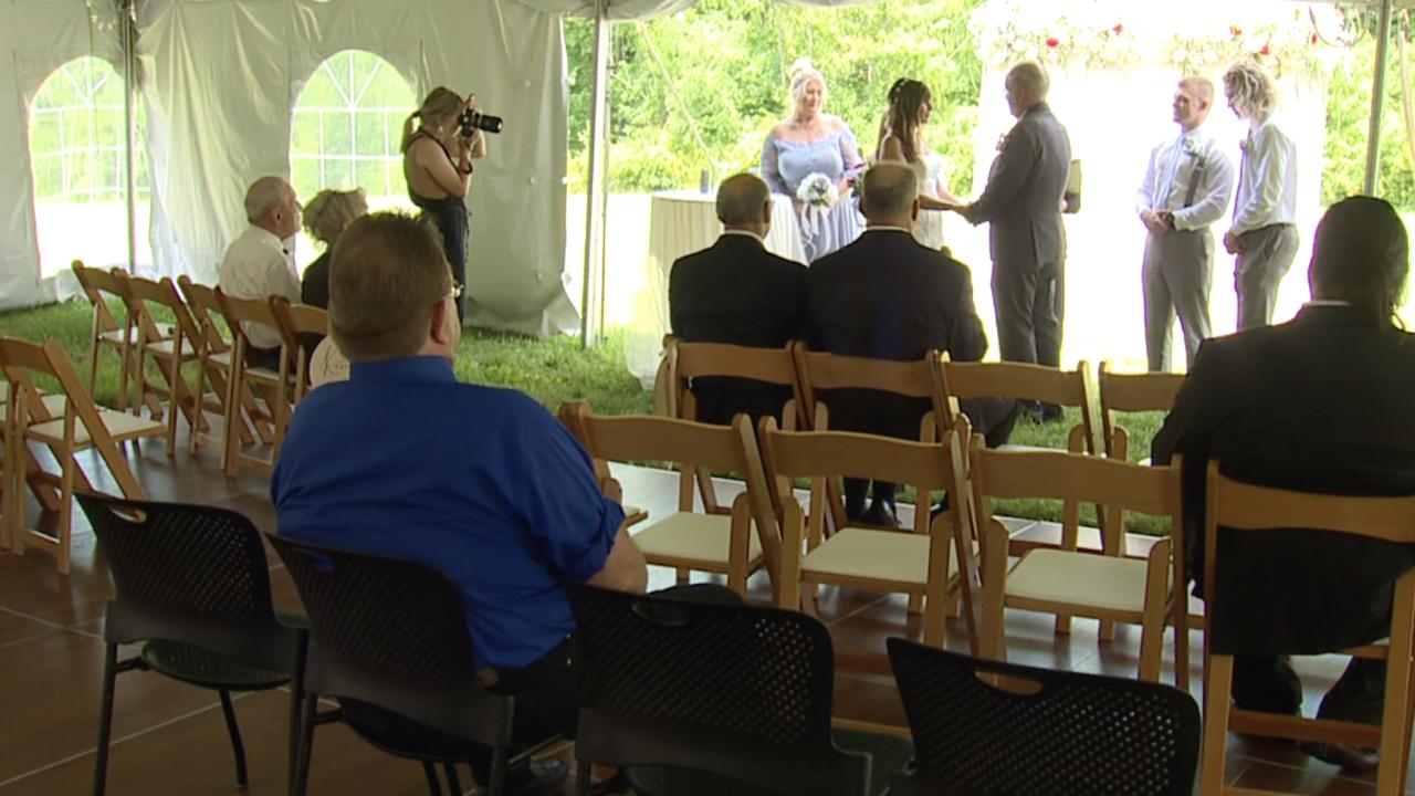 CVNP pop up wedding
