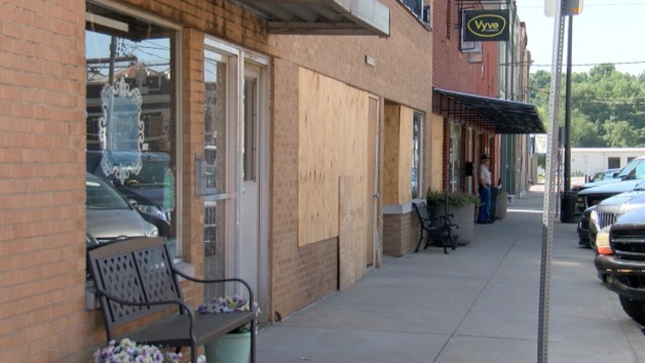 Atchison businesses rebuilding after explosion