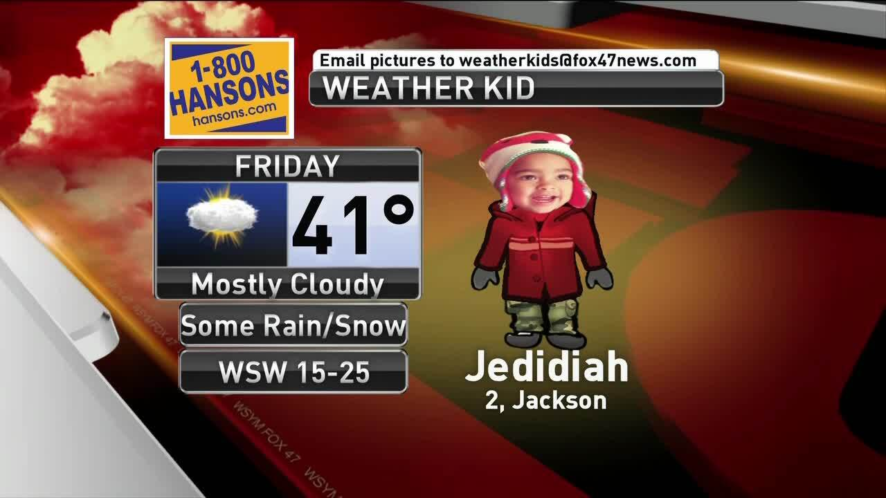 Weather Kid - Jedidiah - 3/15/19