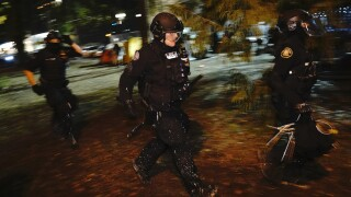 Oregon governor asks for review of police response to Saturday protest in Portland