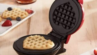 Mini Waffle Maker Makes The Most Adorable Heart-shaped Treats