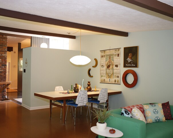 Home Tour: The perfect house for mid-century modern aficionados