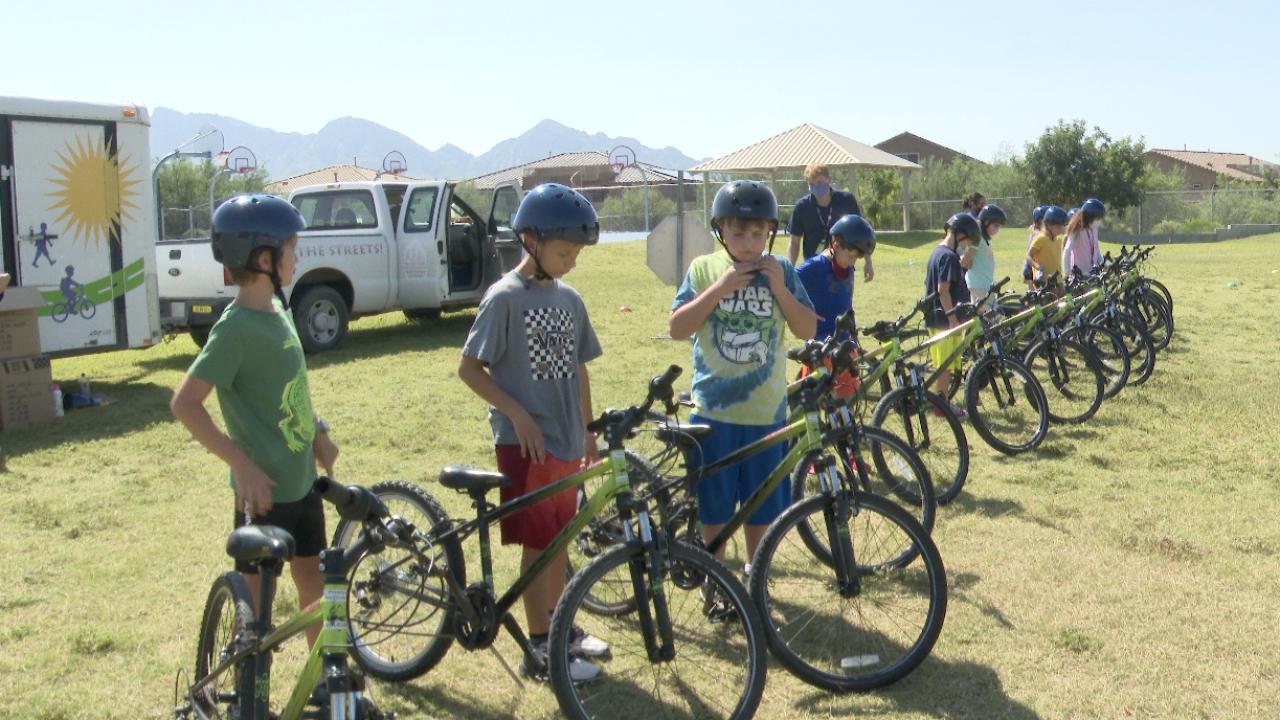 Pima County Youth Bike Safety Program