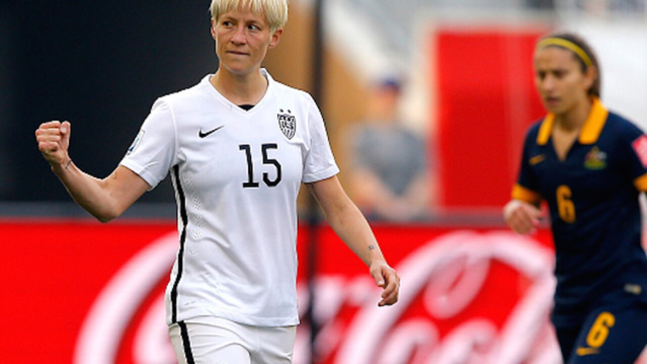Soccer team plays Anthem early to block Megan Rapinoe's protest