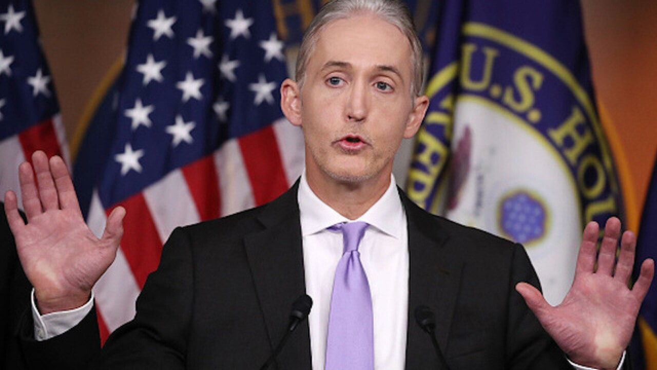 Rep. Trey Gowdy says he won't seek re-election