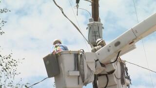 TEP crews work to restore power in midtown