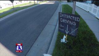 Mailbox mishap prompts distracted driving concerns in Herriman