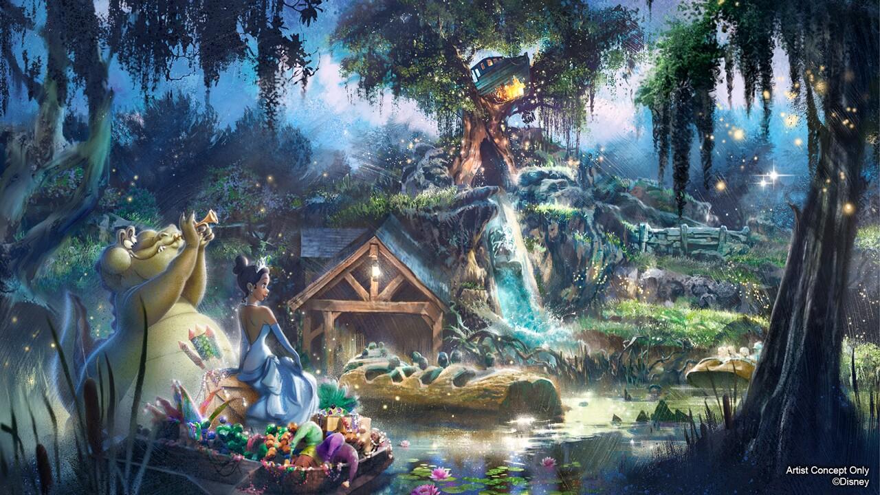 Disney to retheme Splash Mountain - Artist rendering