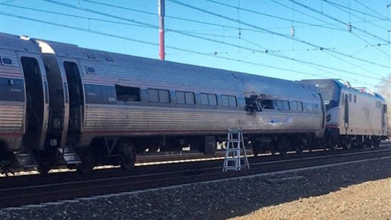 Two dead after train derails in Pennsylvania