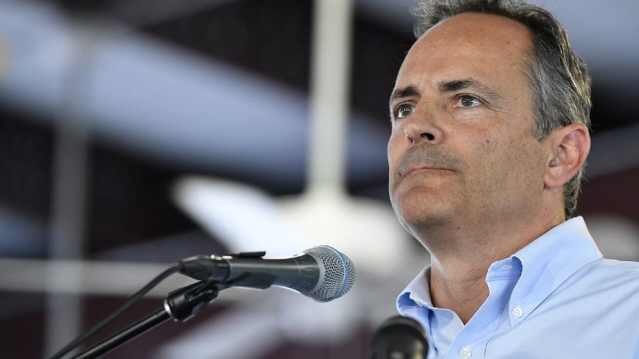 Governor Matt Bevin to hold press conference at 2:15 p.m.