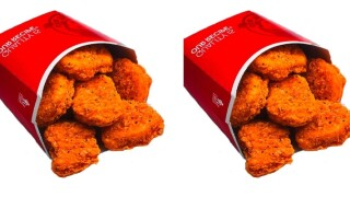 Spicy chicken nuggets are coming back to Wendy's — and they have an official launch date now