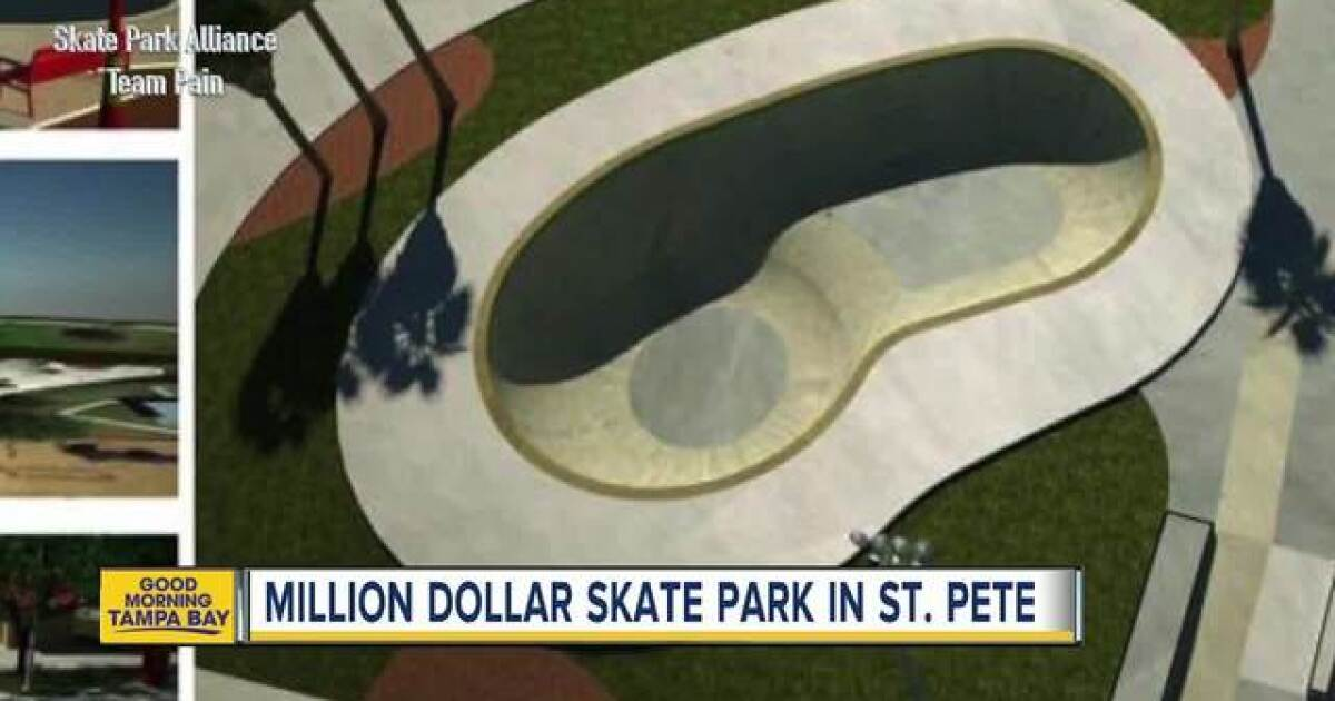 Florida Skateparks Map.St Petersburg Breaking Ground On 1 25 Million Skate Park At