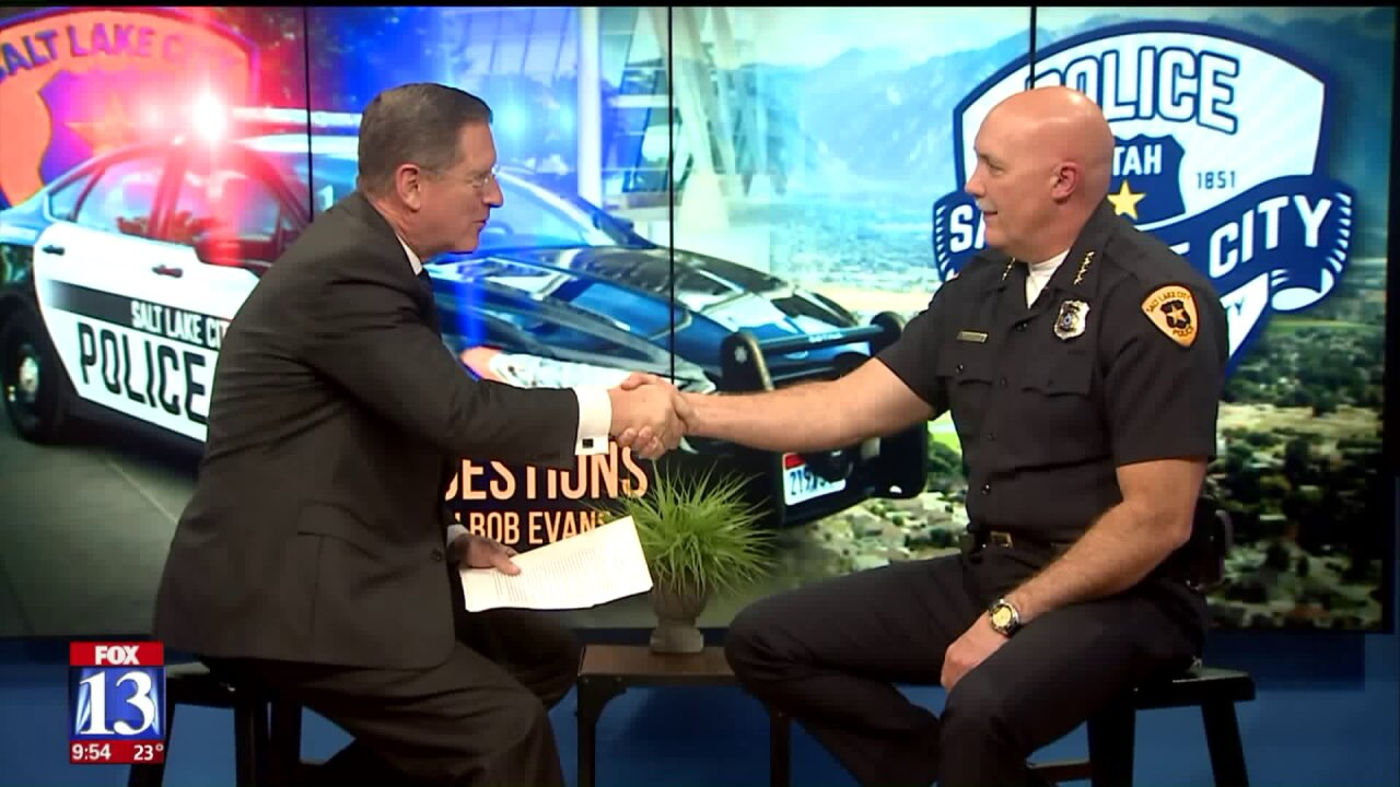 Three Questions With Bob Evans: Salt Lake Police Chief MikeBrown