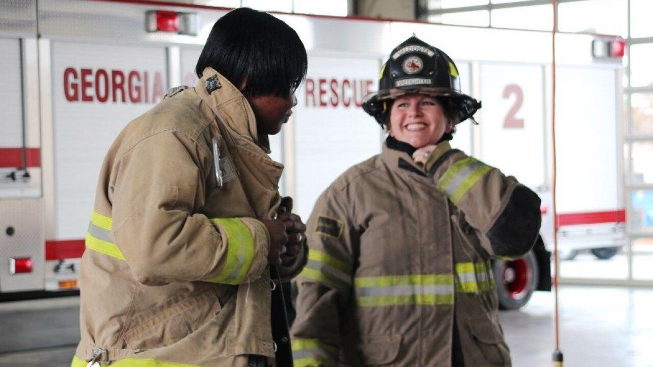 Valdosta Women Firefighters