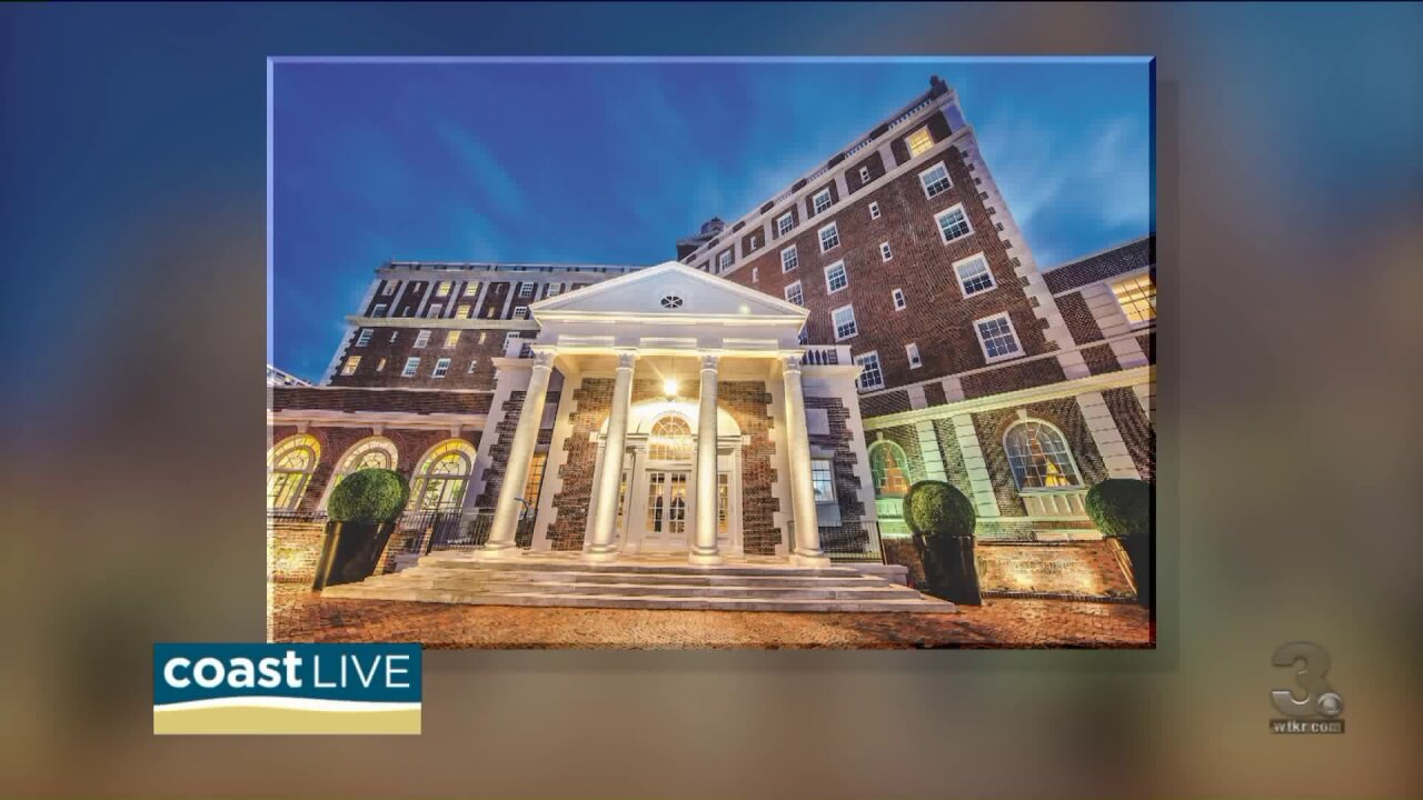 Checking out the new Cavalier Hotel with COVA Magazine on CoastLive