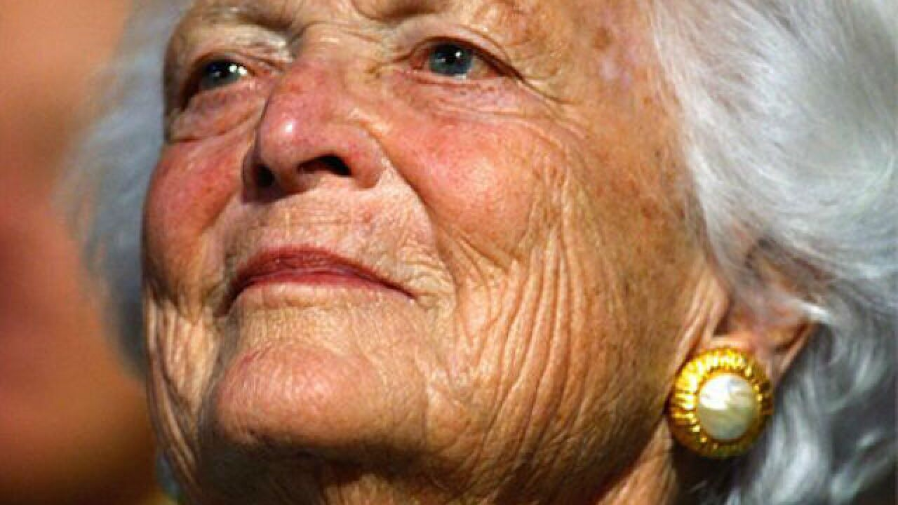 Former First Lady Barbara Bush to be laid to rest Saturday in Houston