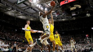 Cassius Winston's career high leads No. 14 Michigan State over No. 12 Michigan