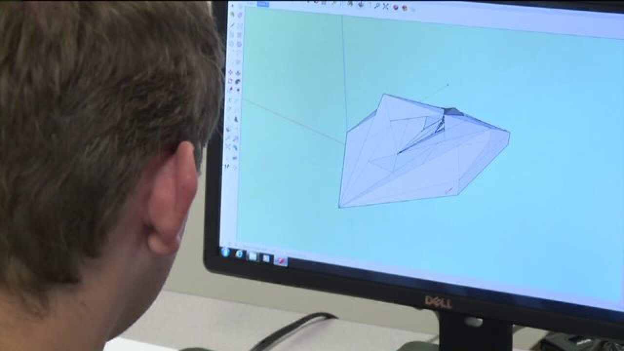 Program at U of U helps those with autism learn drafting, 3D modeling