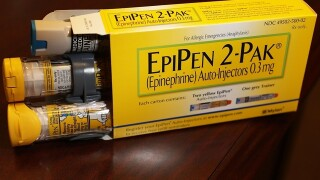 The Food and Drug Administration warns consumers of voluntary recall of EpiPens