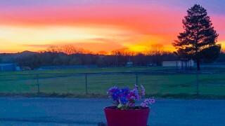 Florence CO Carol Gebhart sunrise