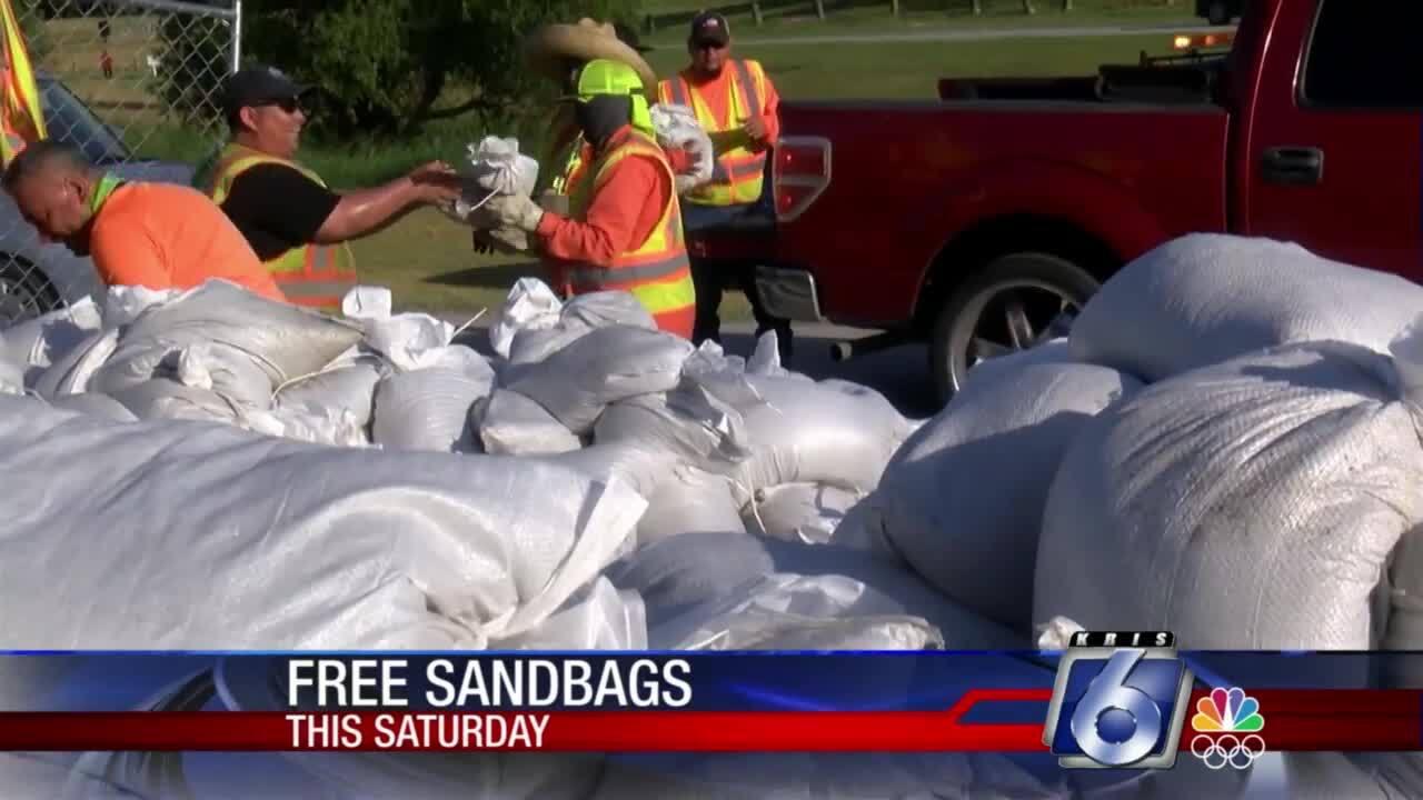 City providing free sandbags at two locations on Saturday