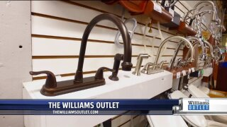 Save thousands of dollars on remodeling shopping at The William's Outlet