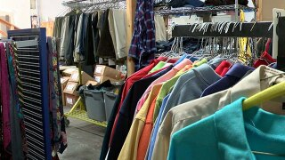 Clothing drive for homeless military veterans in San Diego underway