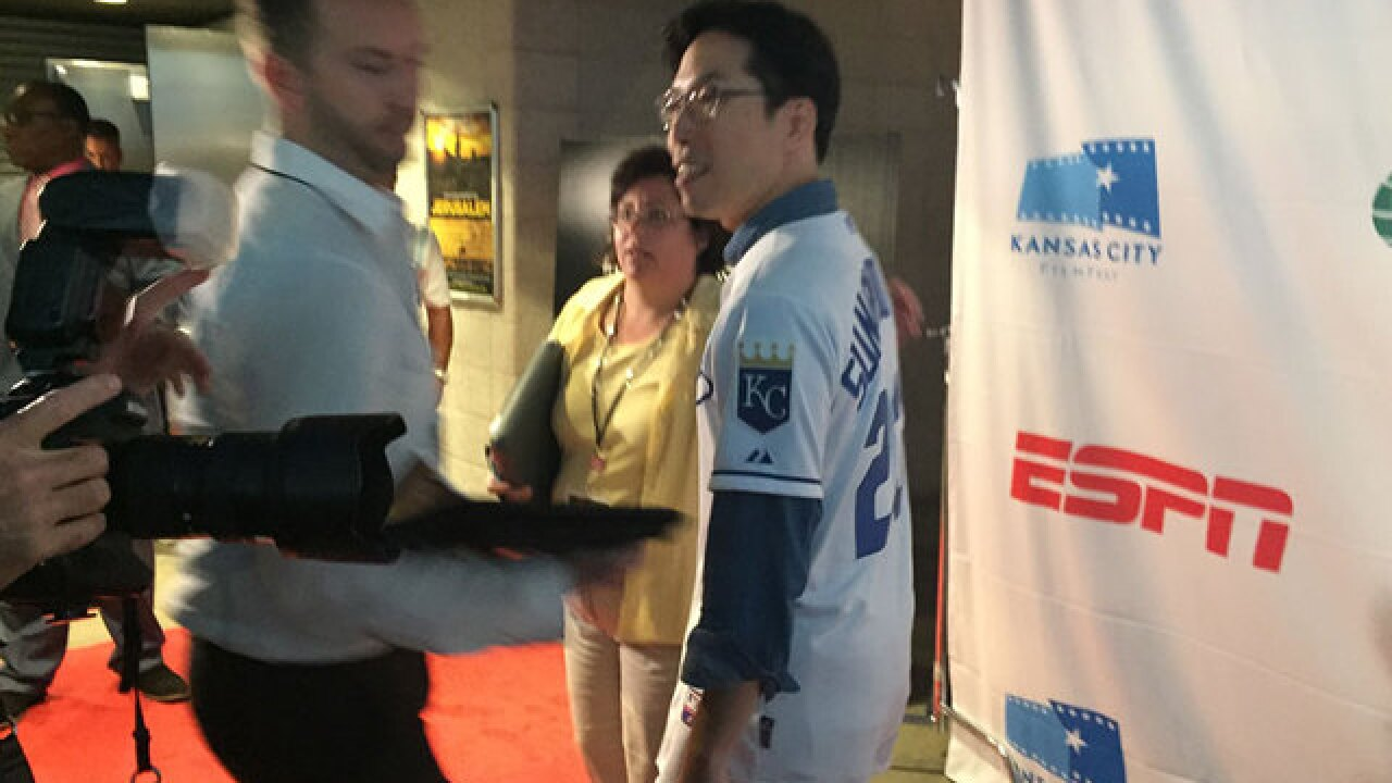 Sung Woo Lee debuts in an ESPN film