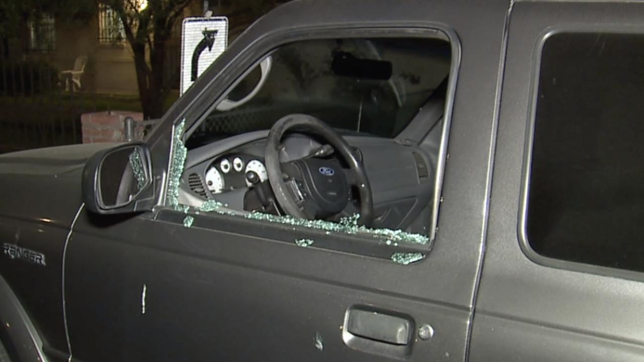 Car windows shot out in Tempe, Phoenix