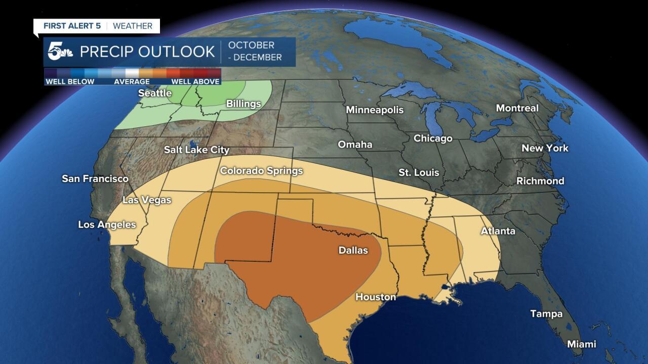 Fall precipitation outlook
