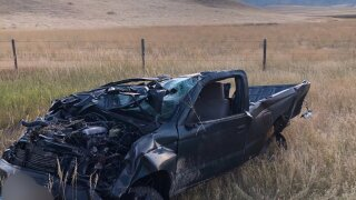 Seat belt saves life of hunter than bags six-point elk with truck
