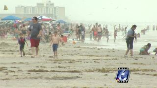 How will COVID affect local beaches during holiday weekend