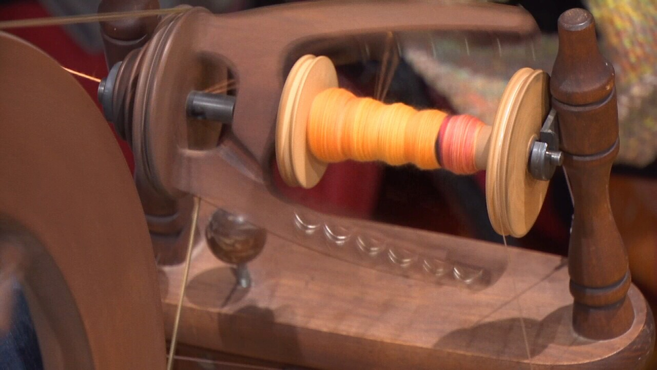 Prairie Handspinners Fiber Festival held at the Shrine Auditorium