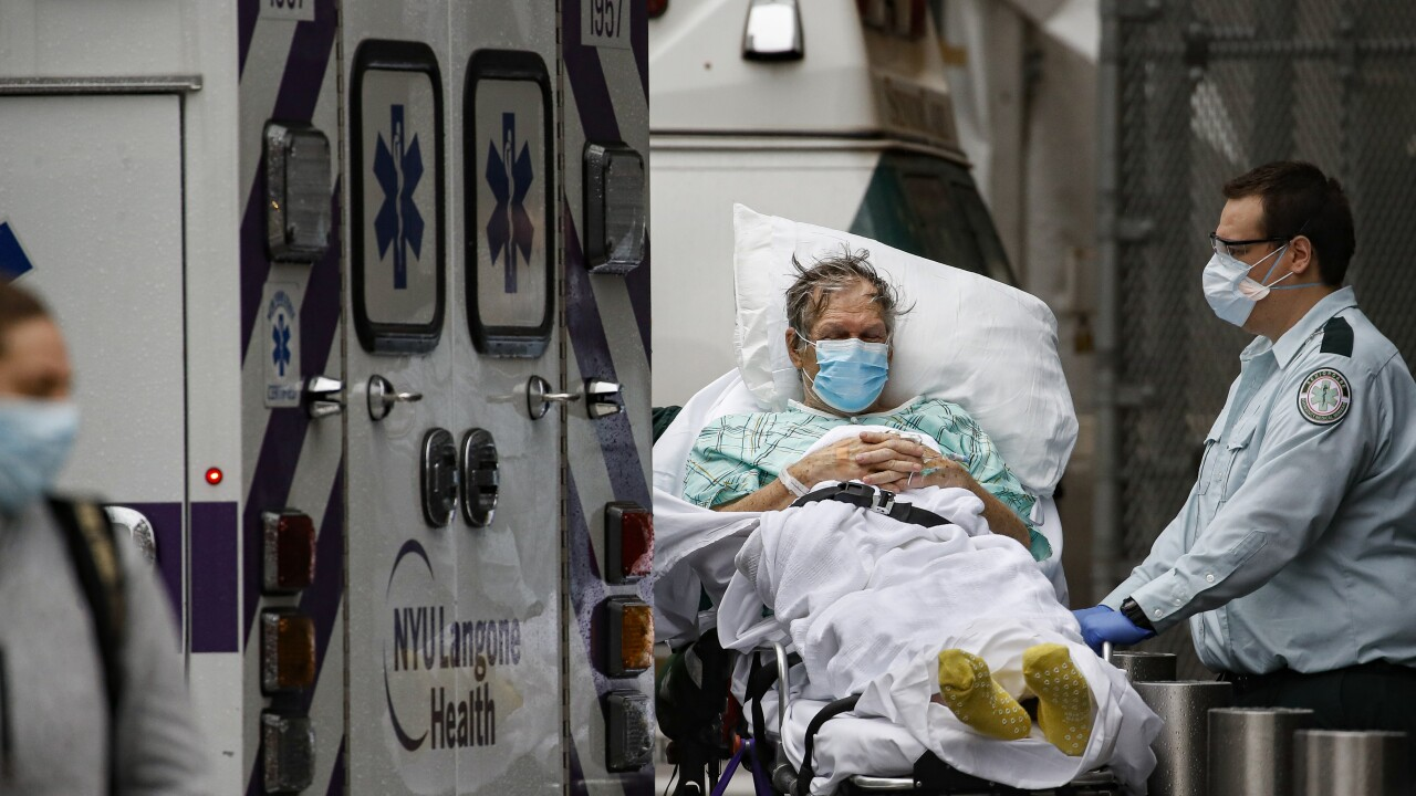 NY death toll passes 10,000; new hot spots slow to emerge