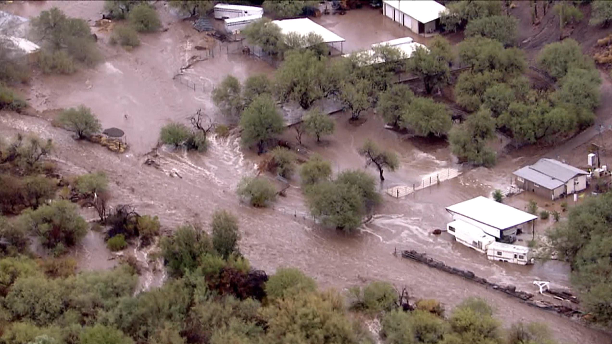 monsoon flooding new river