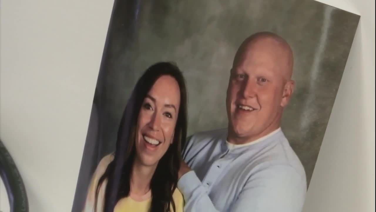 Tony Forster and wife Jordann Lankford-Forster