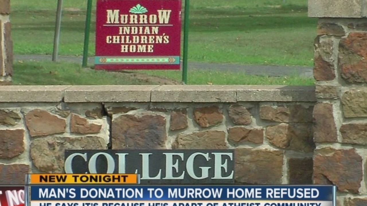 Children's home gives statement, donation grows