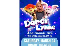 Watch 2 Win a pair of tickets to see America's Got Talent winner Darci Lynne & Friends March 24