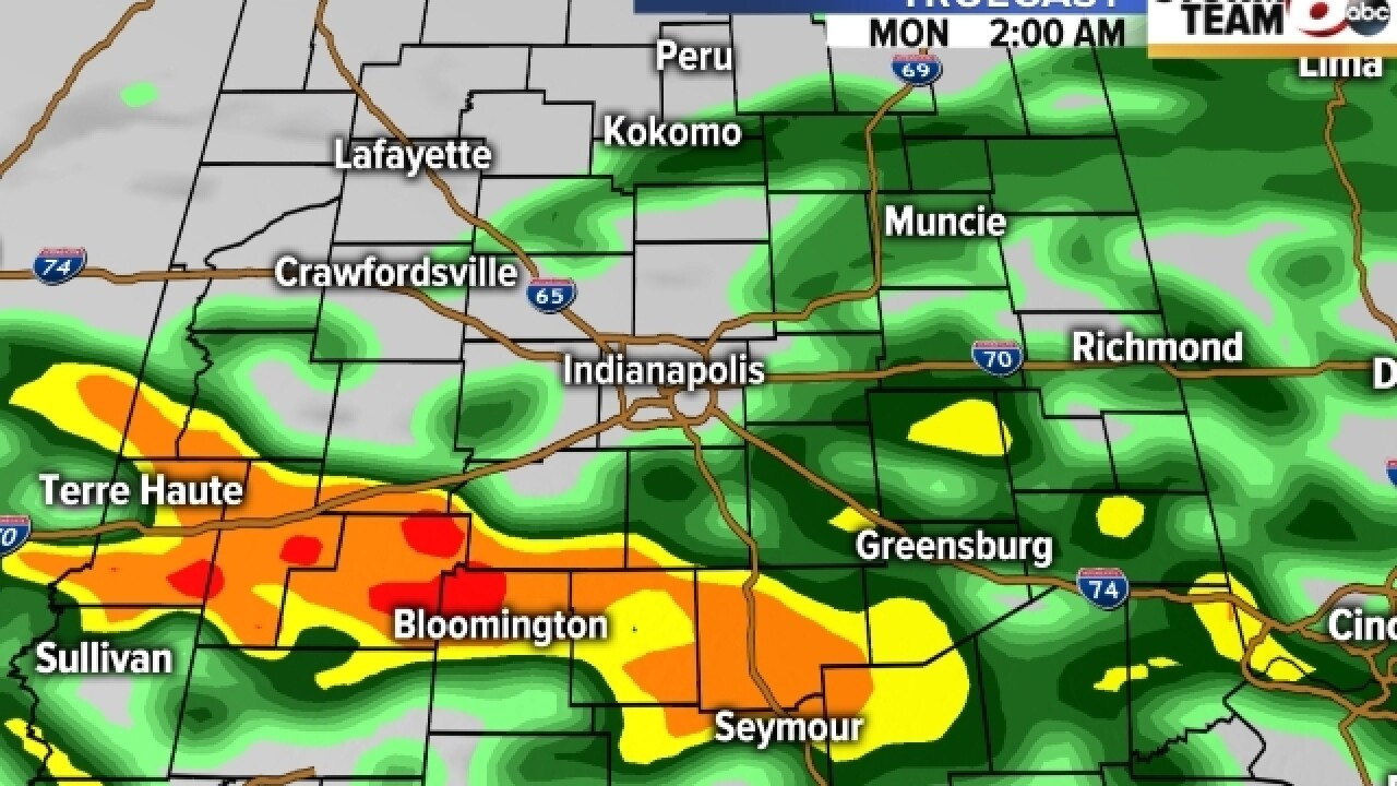 TIMELINE: When you can expect to see rain