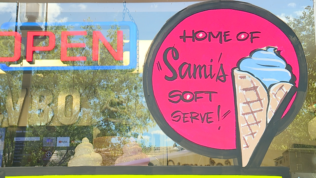 Sami's Soft Serve at Cowboy Cones in Wyoming