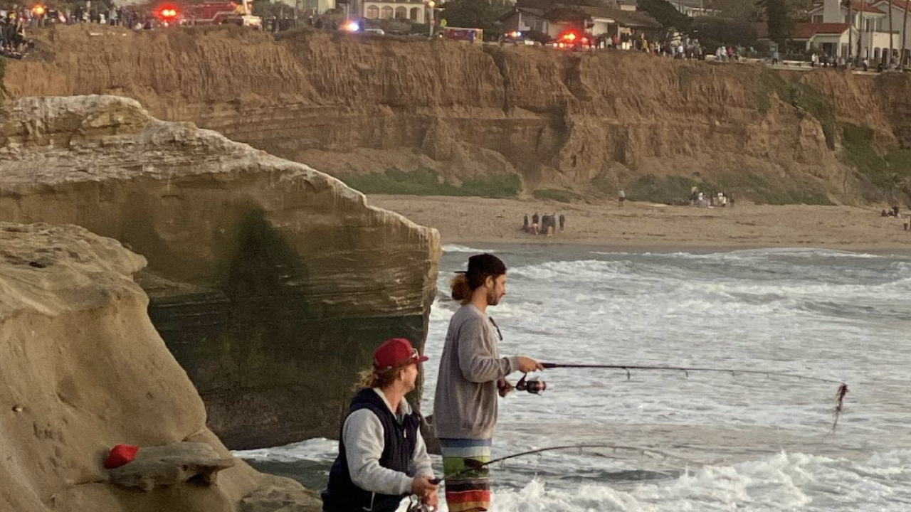 Sunset cliffs rescue 2-20