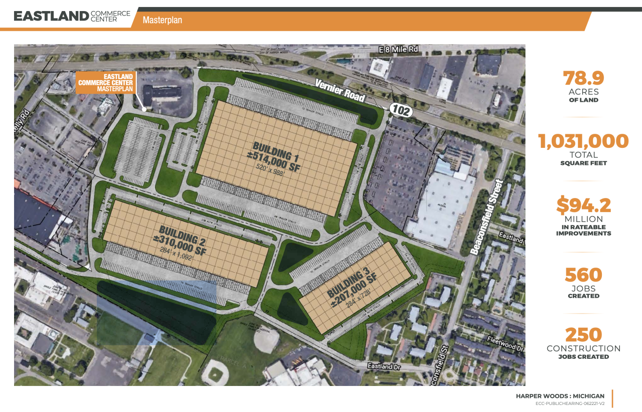Eastwood mall rendering