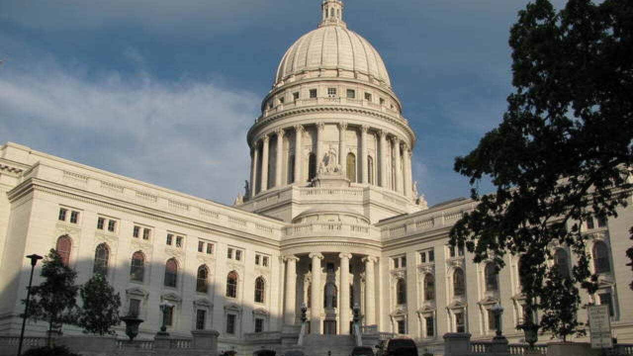 Prosecutors charge man with breaking into Wisconsin Capitol