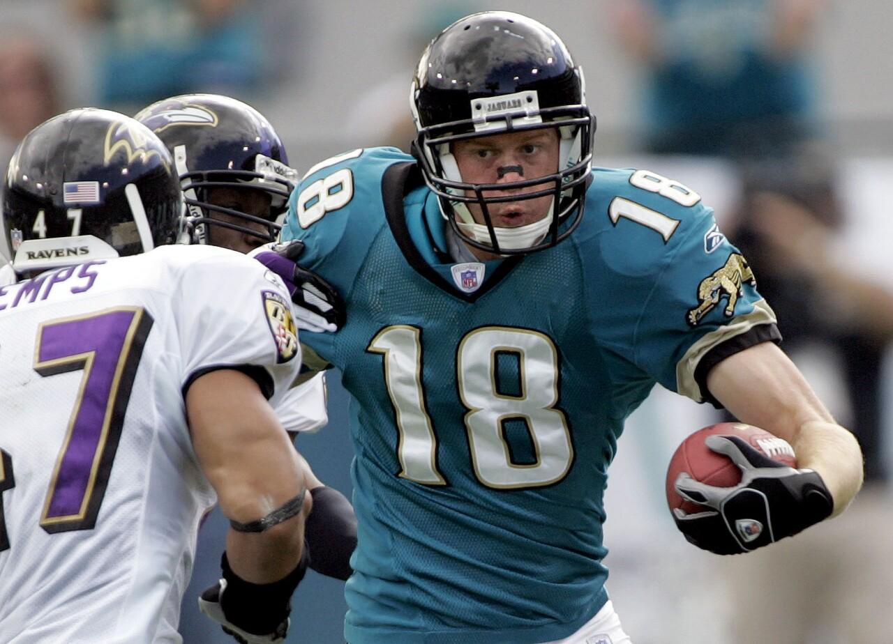 Matt Jones, Jacksonville Jaguars receiver in 2005
