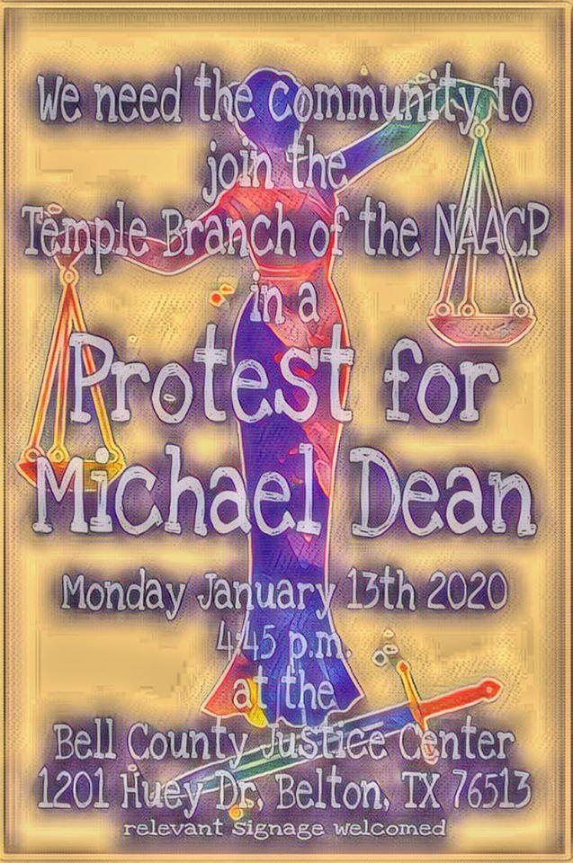 Dean protest