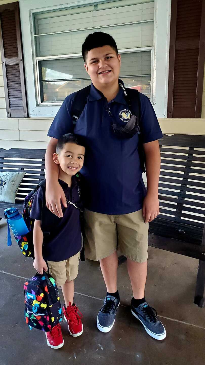 1st and 6th graders in Hillsborough - Guillermo AndChristina.jpg