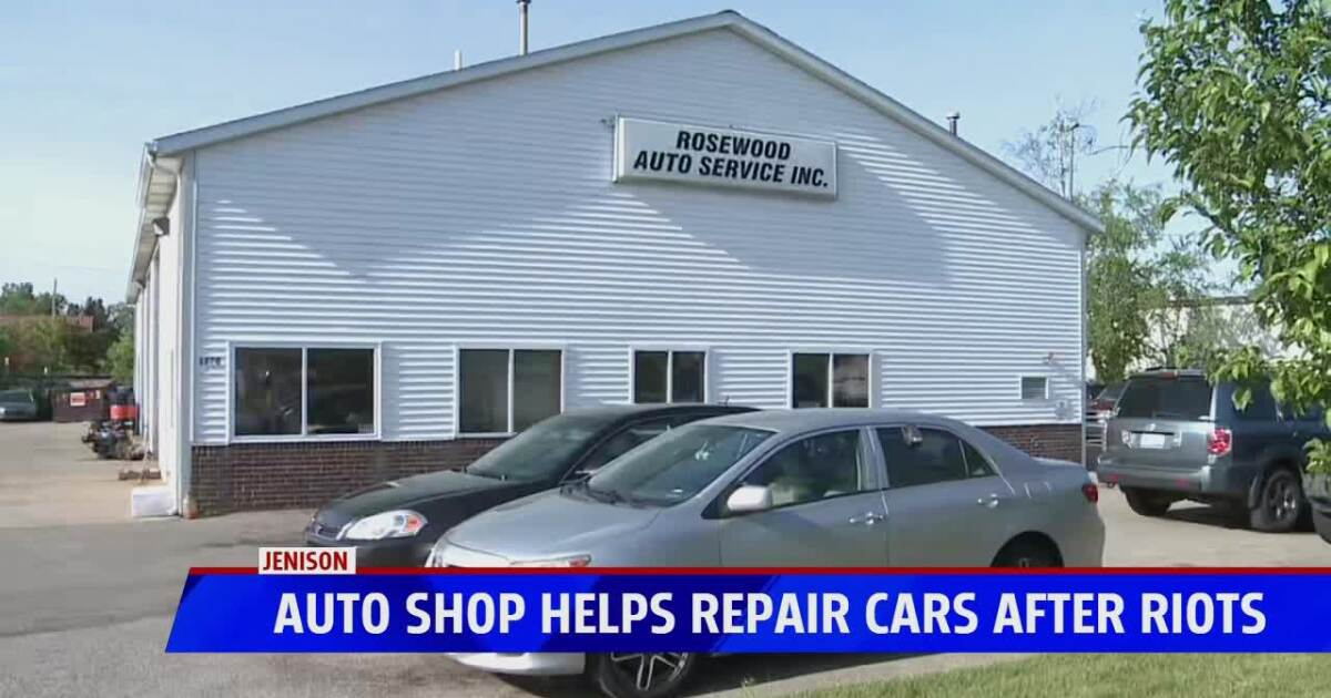 Jenison repair shop offering to fix cars damaged by riots