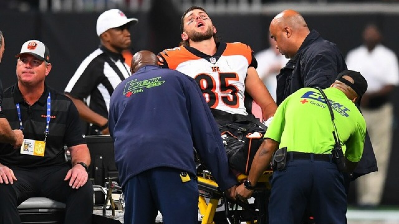 Bengals' Tyler Eifert suffers gruesome injury in game vs. Falcons