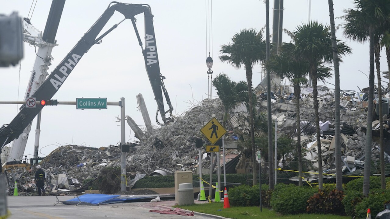 Building Collapse Surfside