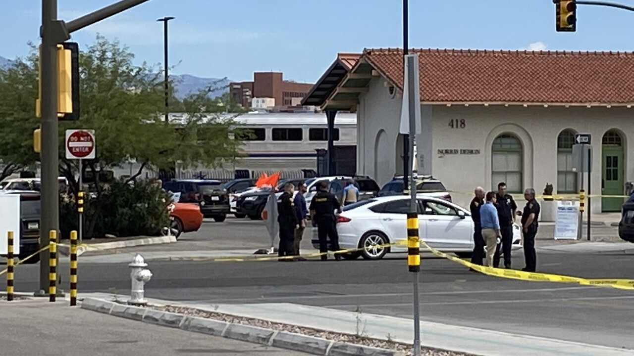 Tucson police responded to an active shooter scene at a Tucson Amtrak station at 500 N. Toole Ave. Monday.